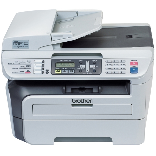 Brother Mfc 7440n Copier Printer Fax Scanner Reconditioned
