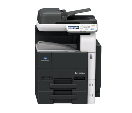 how to connect to konica scanner